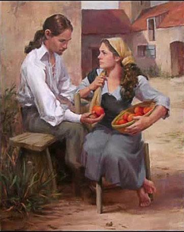 نقاشی عشقبازی با لیلیه دال
