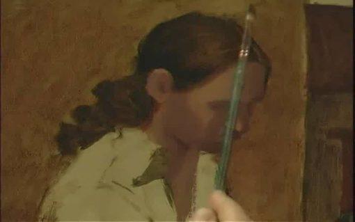 آموزش سبک فلاندرز از لیلیه دال - رنگ روغن
