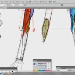 طراحی فیگور انسان با مایکل همپتن