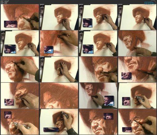 آموزش نقاشی پرتره با پاستل با کریگ نلسول