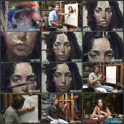 آموزش نقاشی پرتره - ام وستلینگ