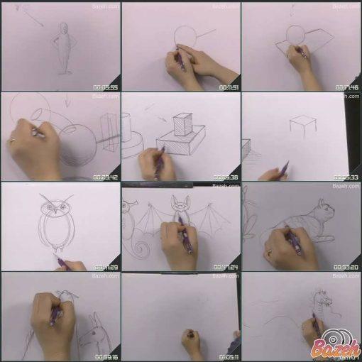 آموزش نقاشی کودکان - تینا سینترون