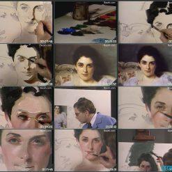 آموزش نقاشی چهره - جان هاوارد سندن