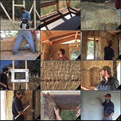 آموزش ساخت خانه با چوب و بلوک های کاهی