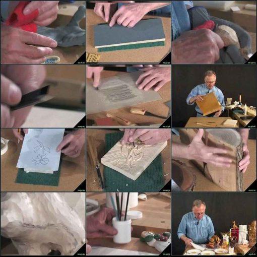 آموزش کنــده کاری روی چوب