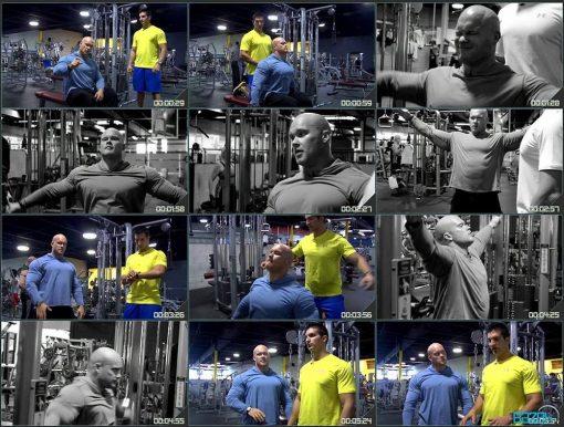 بدن سازی حرفه ای با هایپرتروفی مکس