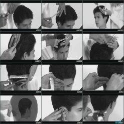 آموزش اصلاح موی سر مردانه - ویدال ساسون