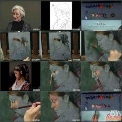 نقاشی زن خدمتکار – سارا از لیلیه دال