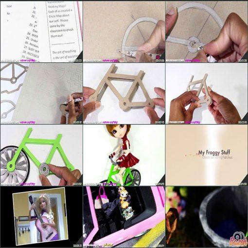 آموزش ساخت عروسک - خانه و لوازم عروسک