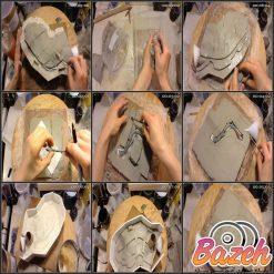 قالب گیری و ساخت مجسمه کایمرا