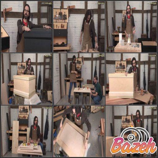 آموزش ساخت جعبه ابزار سنتی چوبی توسط کریستوفر شوارز