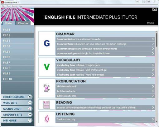 آموزش زبان انگلیس فایل (english file)