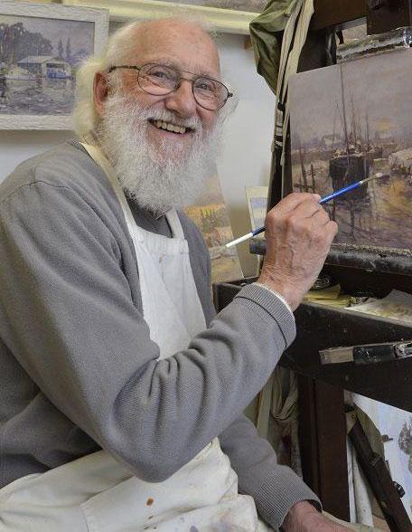 نقاشی آبرنگ آلوین کراشو