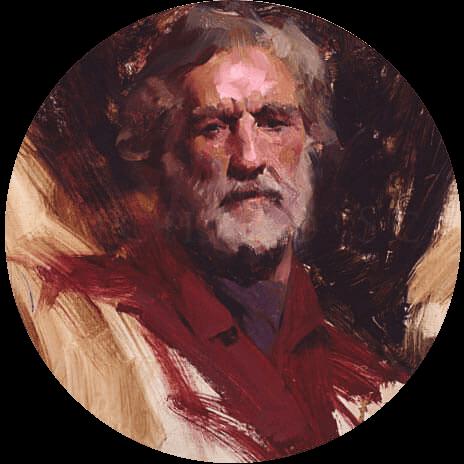 نقاشی پرتره کاپیتان ریچارد اشمیت - اشمید