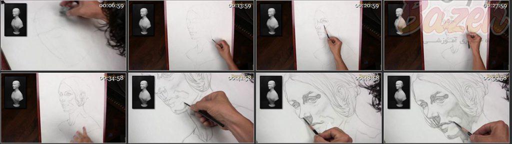 نقاشی با مداد جفری واتس