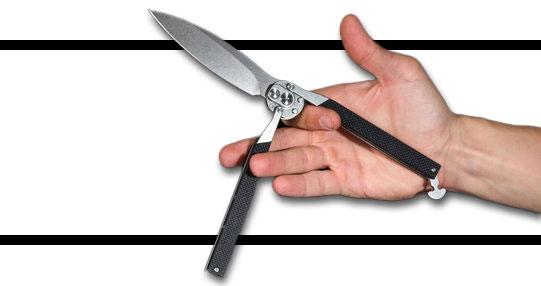 آموزش چاقوی پروانه ای بالیسانگ